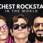 Las 20 estrellas de rock más ricas del mundo