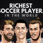 Los 20 futbolistas más ricos del mundo
