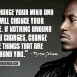 27 frases de Tyrese Gibson que te obligarán a crecer