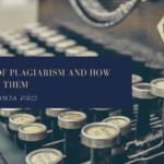 5 tipos de plagio y cómo evitarlos