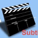 Descargar subtítulos para películas - Los mejores sitios